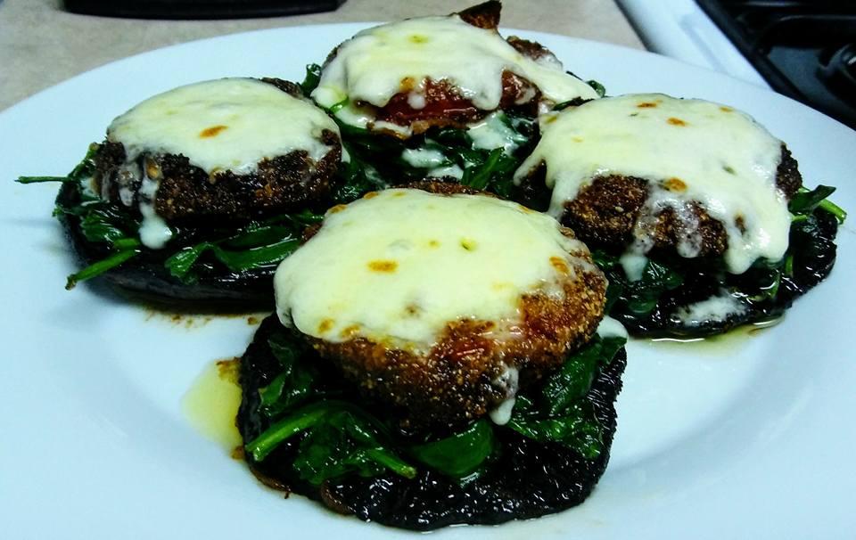 Fried-Tomato-Portabello-Stacks