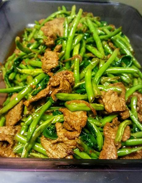 Chinese-Beef-Hericots-Verts-Baby-Kale-Stir-Fry-Spicy-Garlic-Lime-Sauce