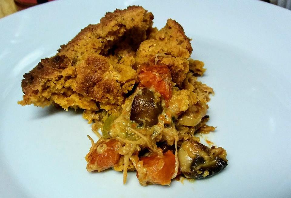 Keto-Chicken-Pot-Pie-with-Biscuit-Crust